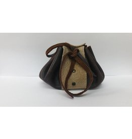 Goblin Gaming Leather Dice Bag – Brown