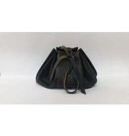 Goblin Gaming Leather Dice Bag – Black