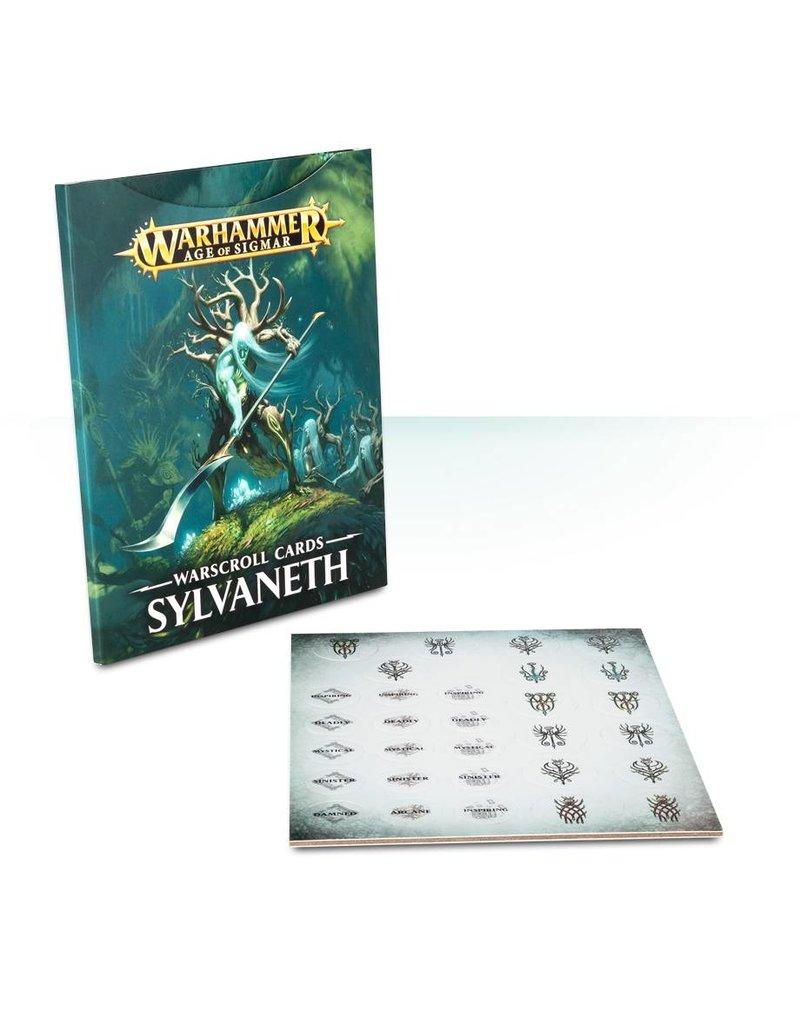 Games Workshop Warscroll Cards: Sylvaneth (EN)