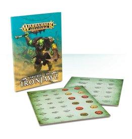 Games Workshop WARSCROLL CARDS: IRONJAWZ (ENGLISH)