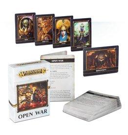 Games Workshop AGE OF SIGMAR OPEN WAR CARDS (ENG)