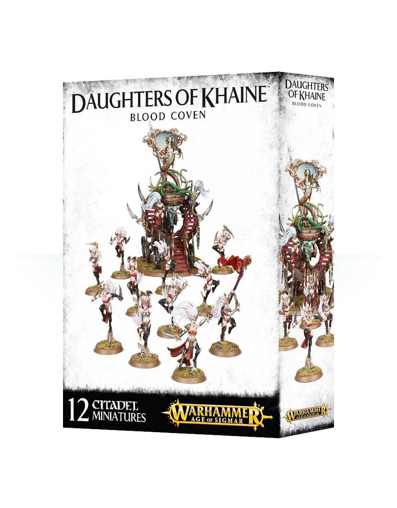 Games Workshop Daughters Of Khaine Blood Coven