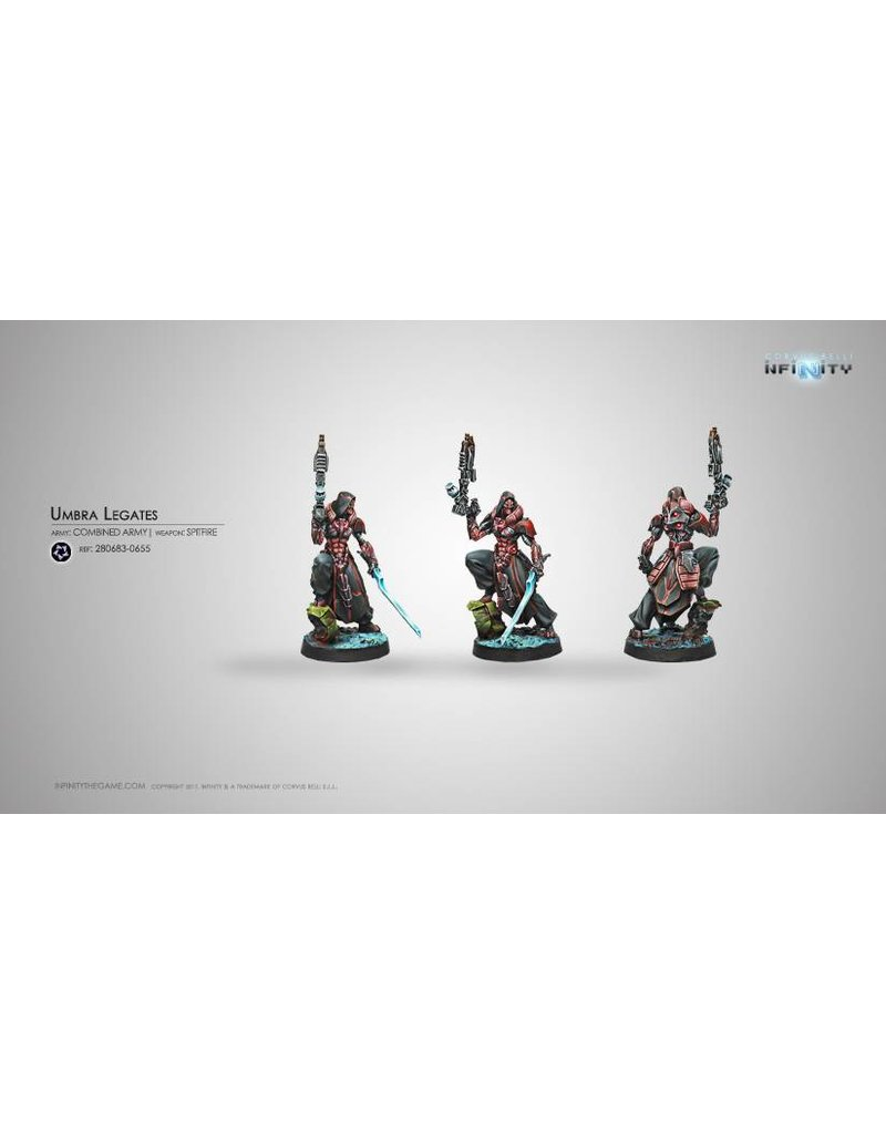 Corvus Belli Combined Army Umbra Legates (Spitfire) Blister Pack