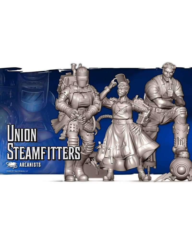 Wyrd Arcanists Steamfitters Box Set