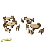 TT COMBAT Tables and Chairs Set