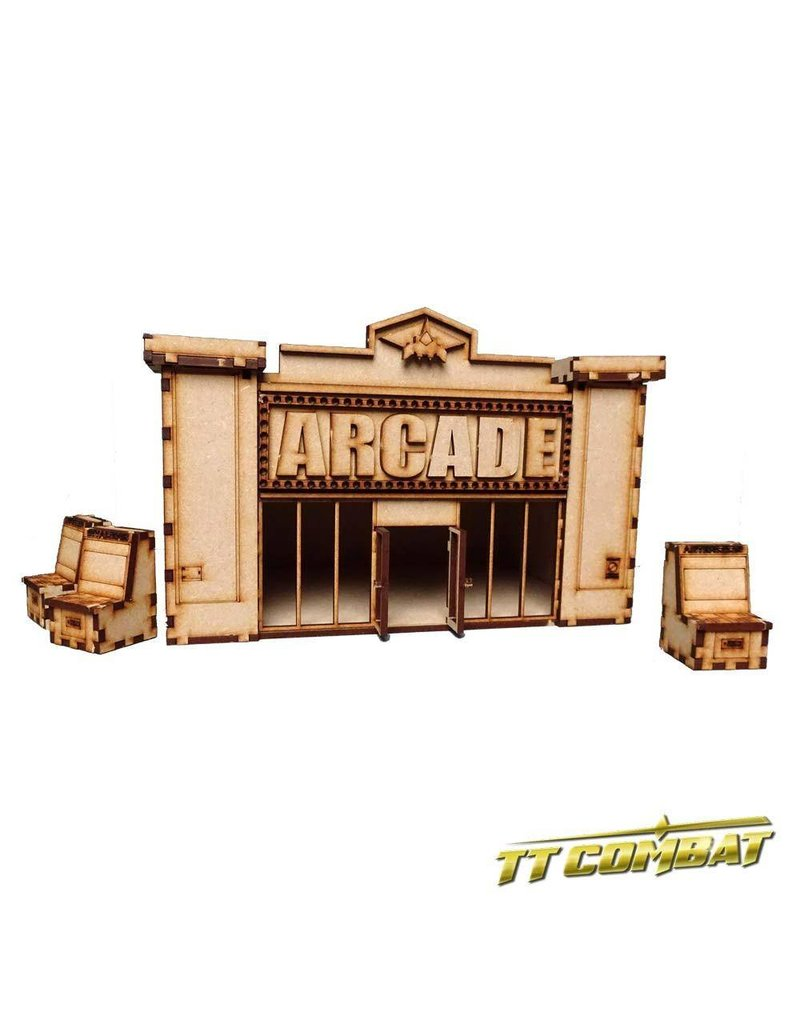 TT COMBAT Arcade Cabinets and Pinball Machines