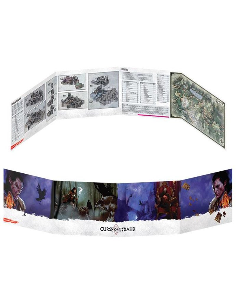 Gale Force 9 D&D DM Screen - Curse of Strahd