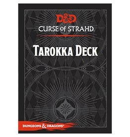 Wizards of the Coast D&D Tarokka Deck - Curse of Strahd Adv exp