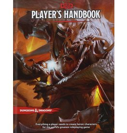 Wizards of the Coast Dungeons & Dragons Player's Handbook (DND)