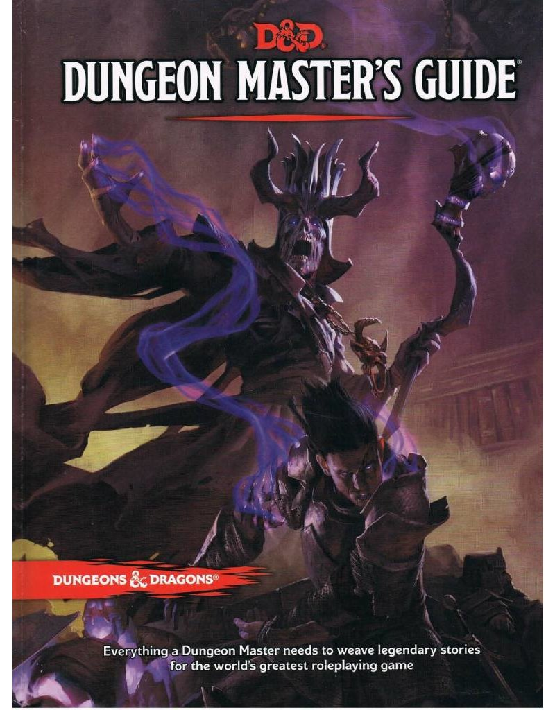 Wizards of the Coast Dungeons & Dragons Dungeon Master's Guide (DND)