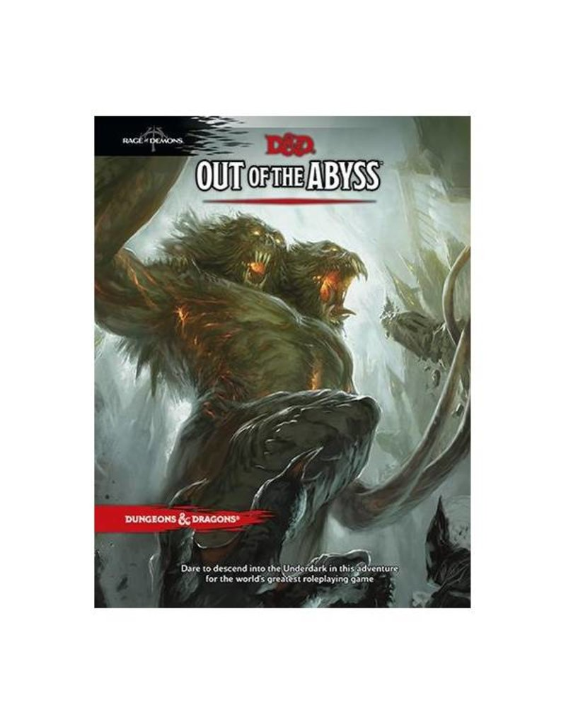 Wizards of the Coast Dungeons & Dragons: Out of the Abyss Campaign Book