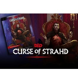 Wizards of the Coast Dungeons & Dragons Curse of Strahd (DND)