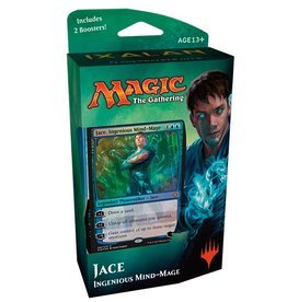 Wizards of the Coast MTG: Ixalan Planeswalker Deck - Jace, the Ingenious Mind Mage