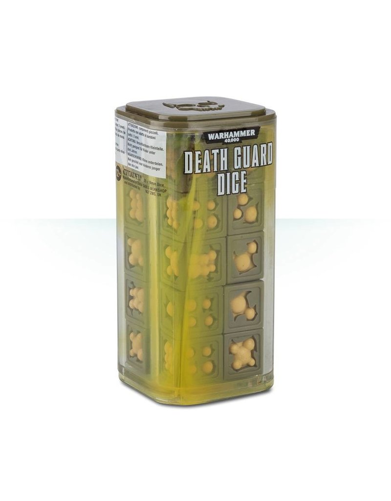 Games Workshop Death Guard Dice Cube