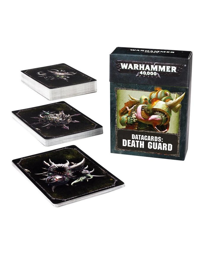Games Workshop DATACARDS: DEATH GUARD (ENGLISH)