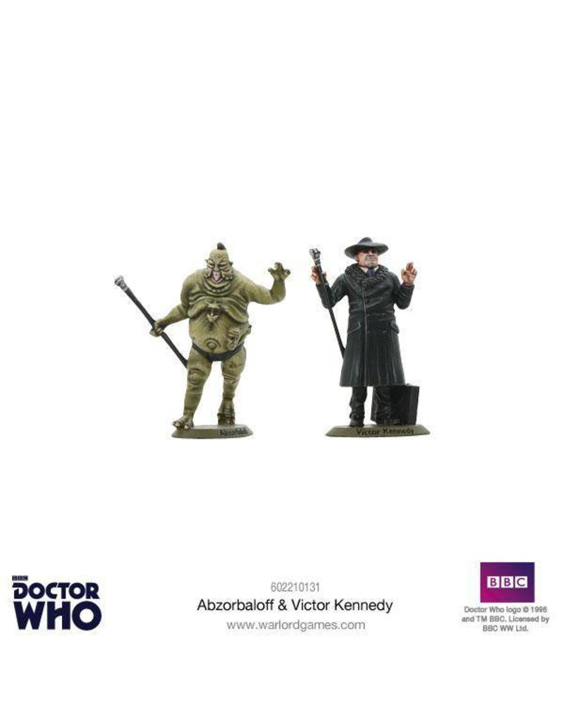 Warlord Games Abzorbaloff & Victor Kennedy