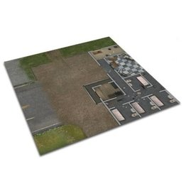 Mantic Games Deluxe Prison Grounds Mat