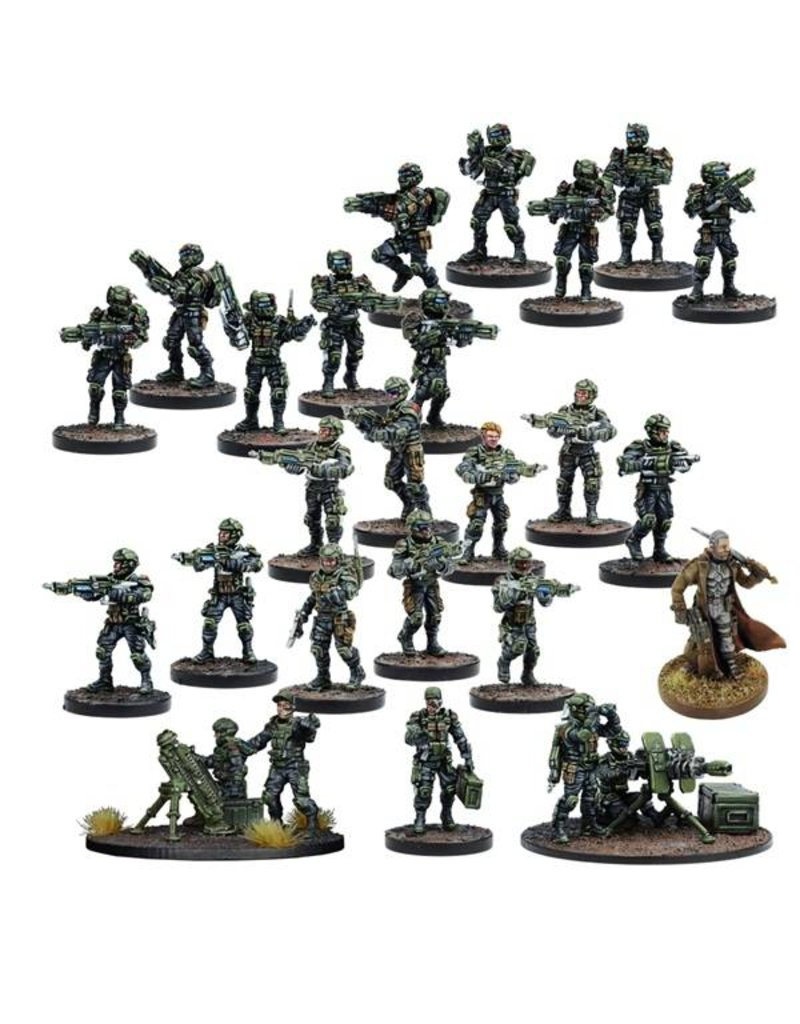 Mantic Games Deadzone: GCPS Faction Starter