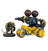 Mantic Games Warpath / Deadzone: Veer-myn Rumbler Weapons Platform