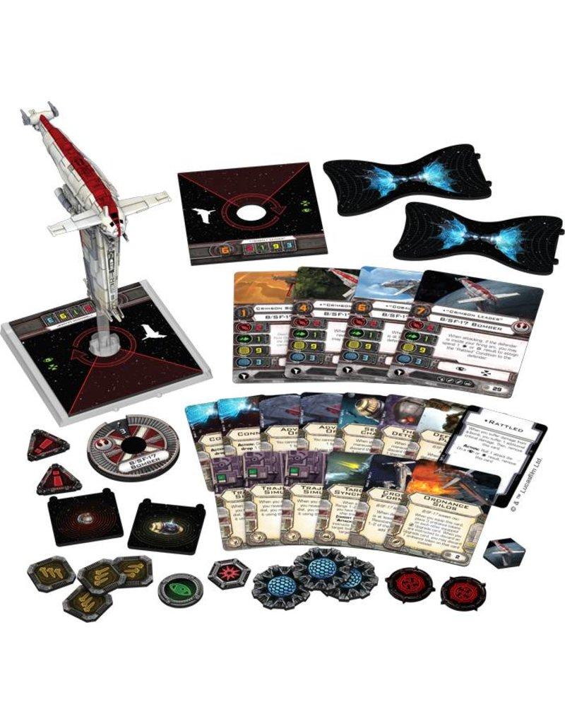 Fantasy Flight Games Star Wars X-Wing: Resistance Bomber Expansion Pack