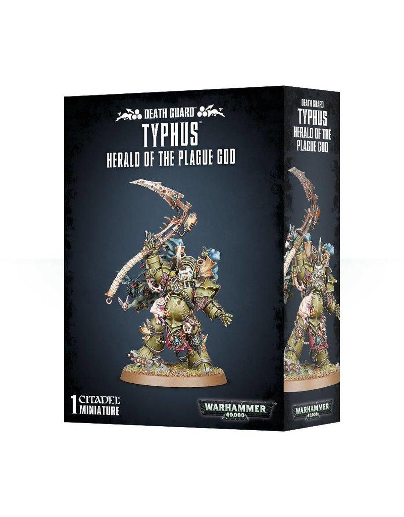 Games Workshop Death Guard Typhus, Mortal Herald Of Nurgle