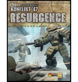 Warlord Games Konflikt 47 Resurgence Rule Book