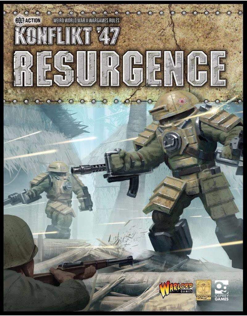 Warlord Games Konflikt 47 Resurgence 2nd Edition Rulebook