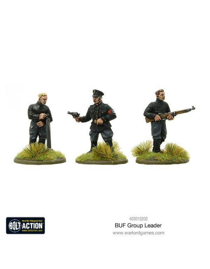 Warlord Games German BUF Group Leader (SPLASH RELEASE