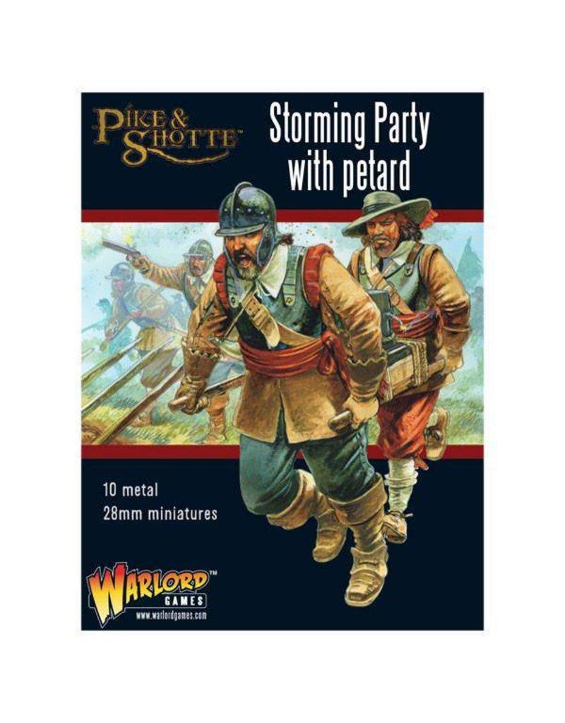 Warlord Games English Civil Wars 1642-1652 Storming Party With Petard Box Set
