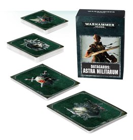Games Workshop DATACARDS: ASTRA MILITARUM (ENGLISH)