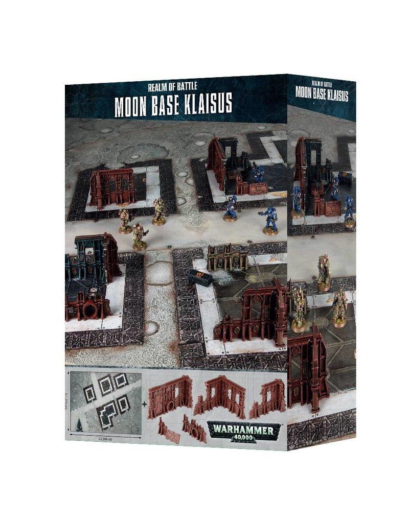 Games Workshop Realm Of Battle: Moon Base Klaisus Battle Mat