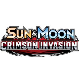 Pokemon Sun & Moon 4 Crimson Invasion Triple Pack Booster: Pokemon TCG (Lucario)