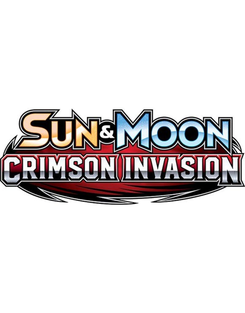 Pokemon Sun & Moon 4 Crimson Invasion Triple Pack Booster: Pokemon TCG (Lucario)