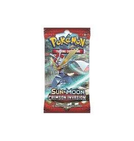 Pokemon Sun & Moon 4 Crimson Invasion Booster CDU: Pokemon TCG