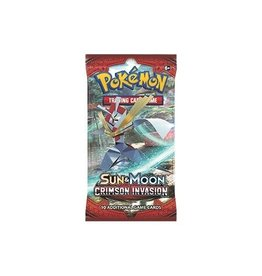 Pokemon Sun & Moon 4 Crimson Invasion Booster: Pokemon TCG