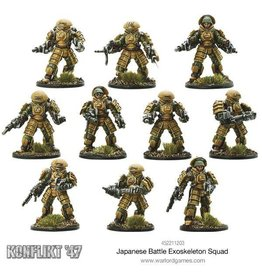 Warlord Games Japanese Battle Exoskeleton Squad