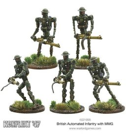 Warlord Games British Automated Infantry with MMG