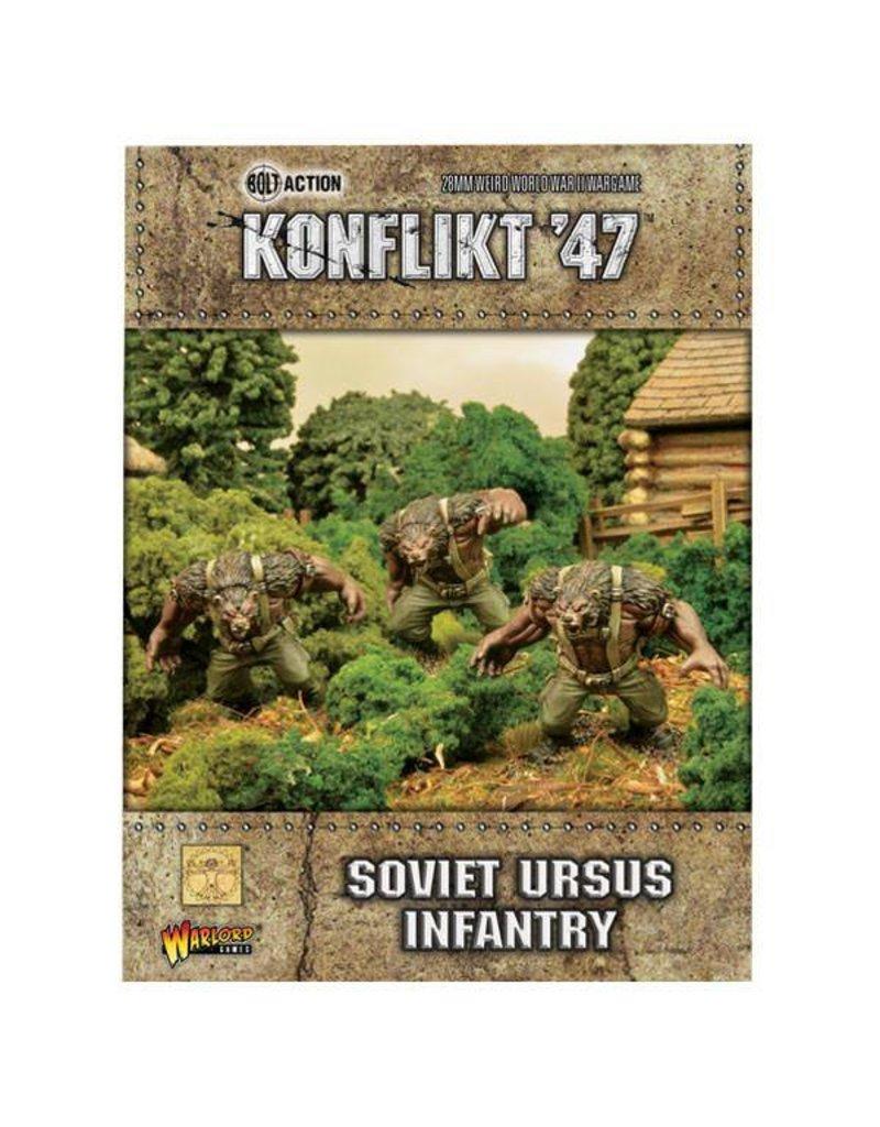 Warlord Games Soviet Ursus Infantry
