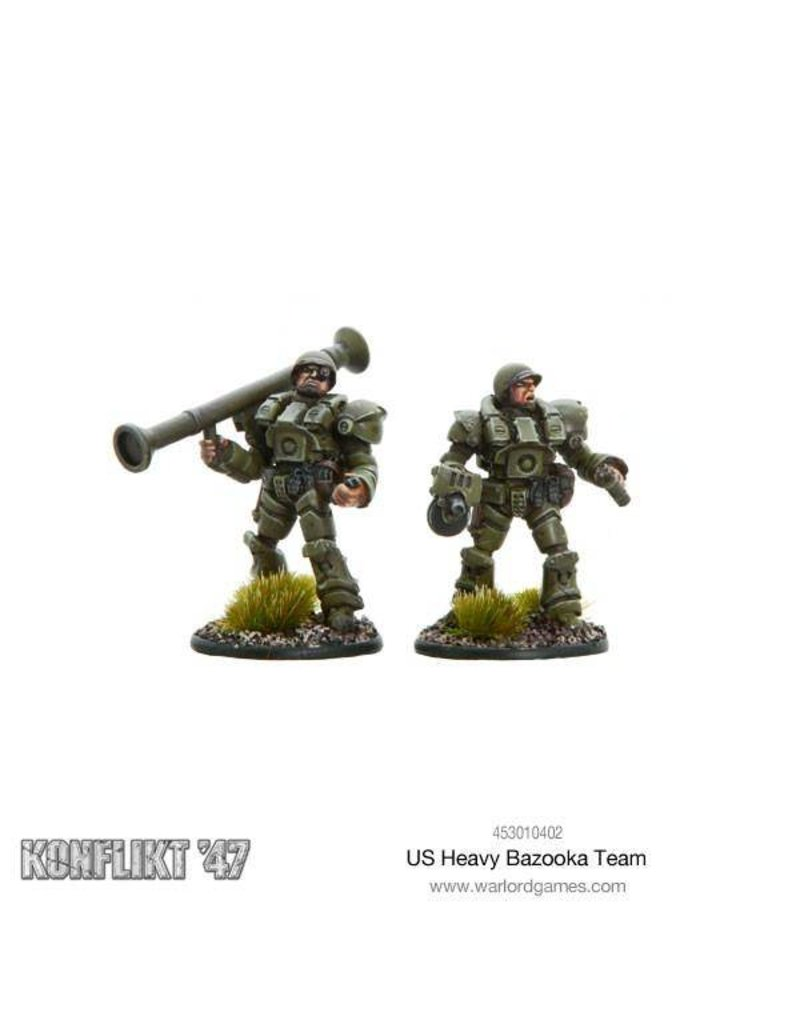 Warlord Games US Army Heavy bazooka team