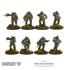 Warlord Games Armoured Infantry Section