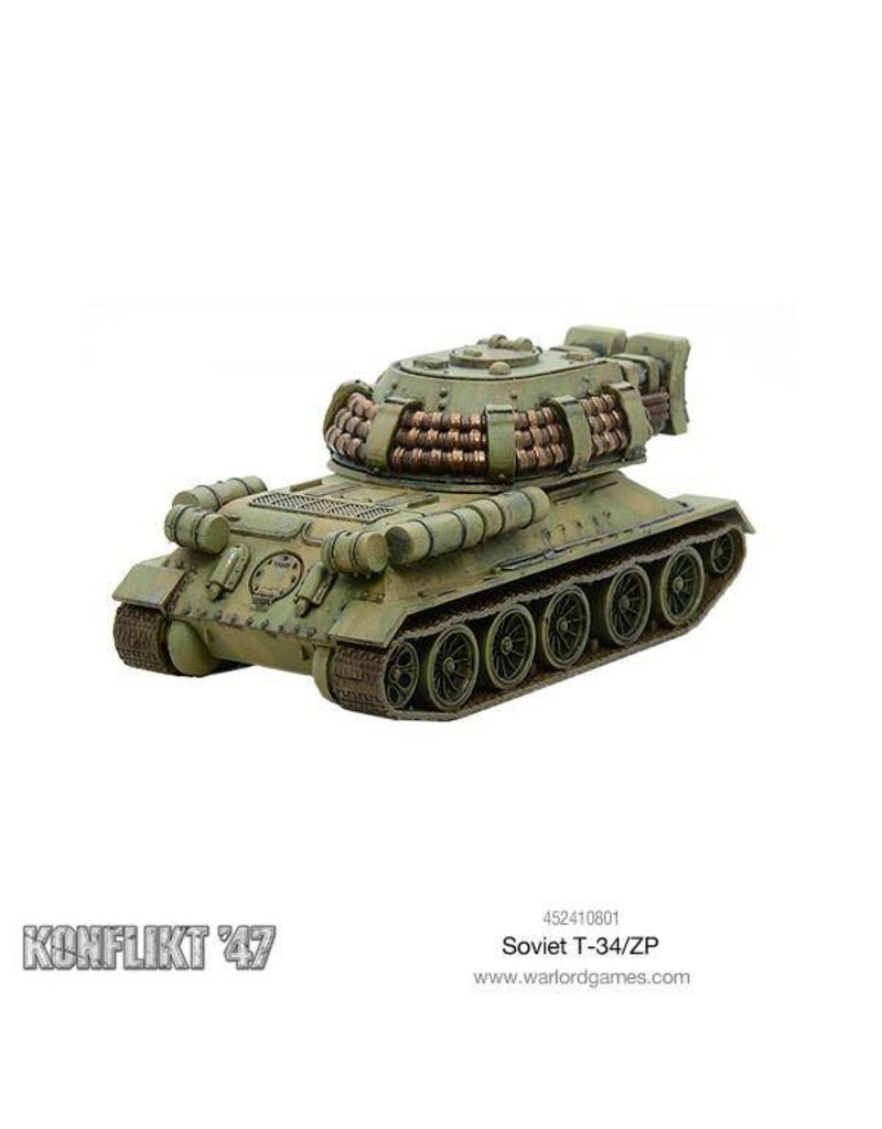 Warlord Games Soviet T34/ZP