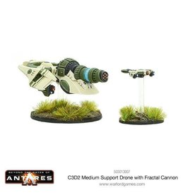 Warlord Games C3D2 Medium Support Drone with Fractal Cannon