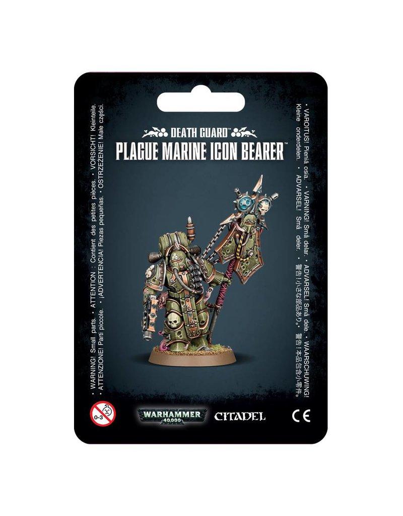 Games Workshop Death Guard Plague Marine Icon Bearer