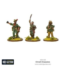 Warlord Games Chindit Characters