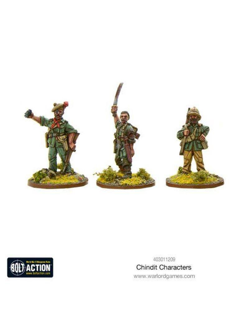 Warlord Games British Chindit Characters