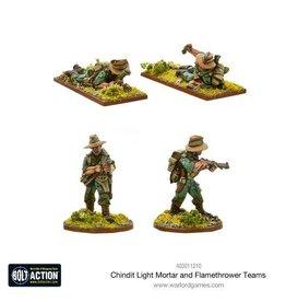 Warlord Games Chindit Flamethrower & Light mortar teams