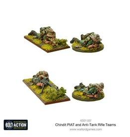 Warlord Games Chindit PIAT and anti-tank rifle teams