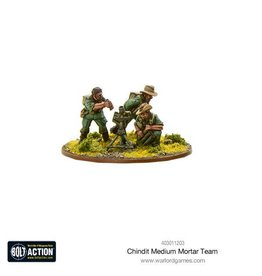 Warlord Games Chindit Medium Mortar team