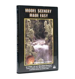 Woodland Scenics SCENERY MADE EASY DVD