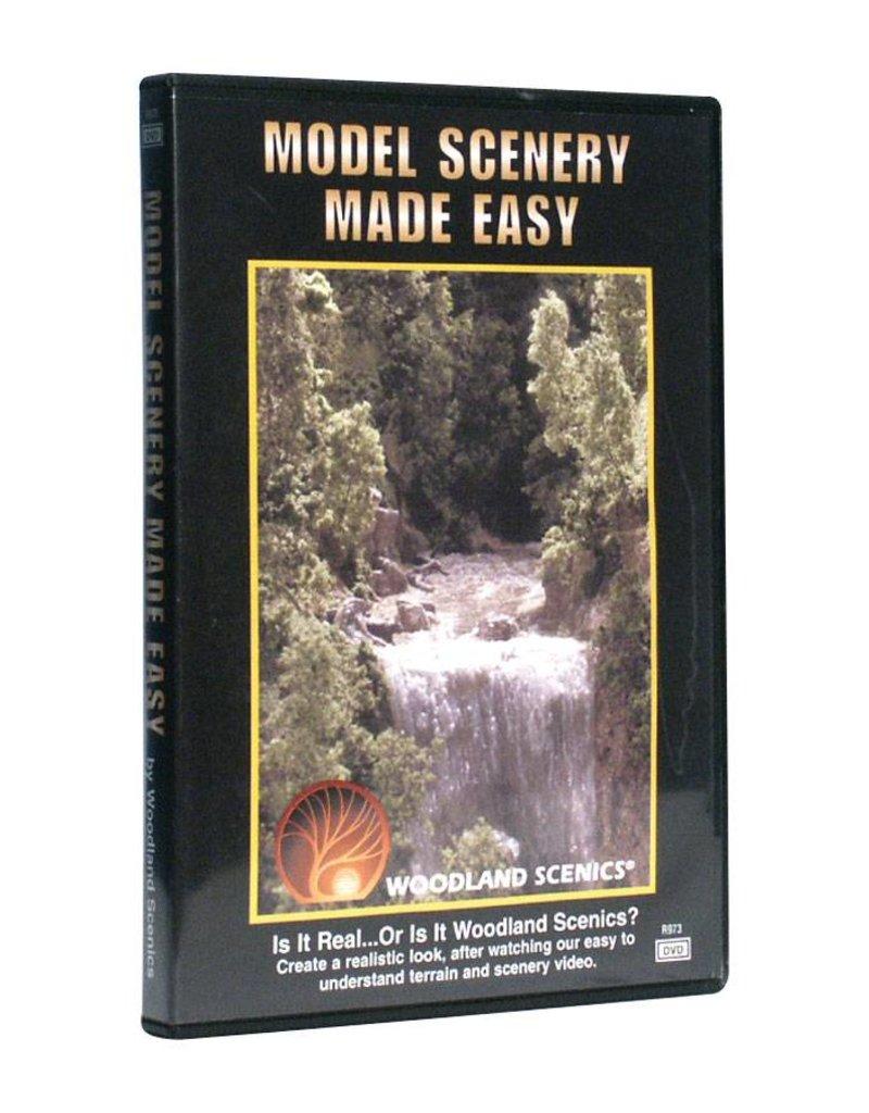 Woodland Scenics SCENERY MADE EASY DVD